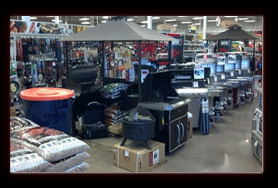 Mile High Ace Hardware BBQ section